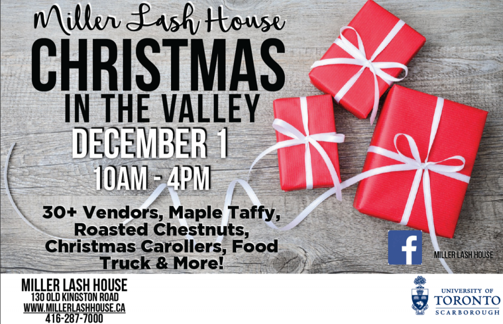 Christmas in the Valley - MLH - Dec 1 2018 (10am-4pm)